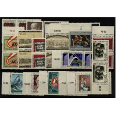 Austria good lot (all stamps PAIR) MNH-VF stamps.