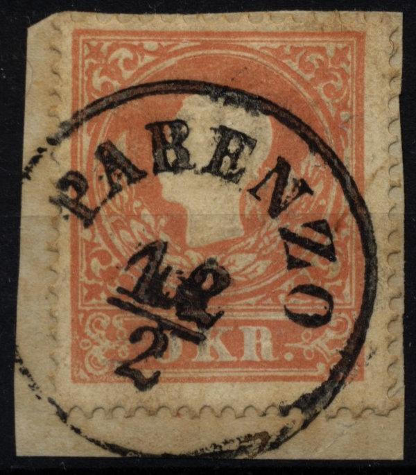 1858 5Kr, TYPE I.! PARENZO (Küstenland) - <span itemprop=availableAtOrFrom>Eberau, Österreich</span> - 1858 5Kr, TYPE I.! PARENZO (Küstenland) - Eberau, Österreich