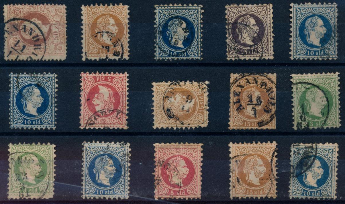 LEVANTE 1867 15Stk. Marken! Gemischte Qualität! Interessantes Lot! - Eberau, Österreich - Money back. - Eberau, Österreich